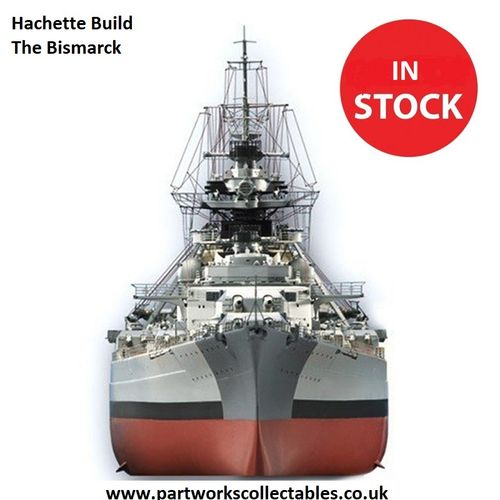 Hachette Build The Bismarck Model Kit (2007 Model)