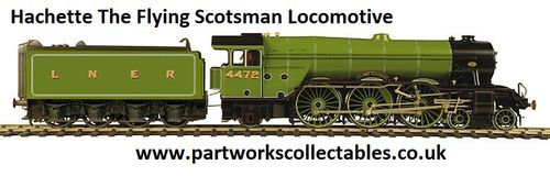 Hachette The Flying Scotsman Locomotive