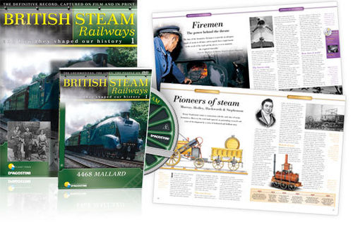 DeAgostini British Steam Railways DVD