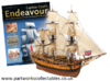 Eaglemoss Captain Cook's Endeavour