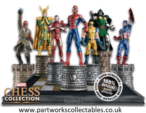 Eaglemoss Marvel Chess Collection