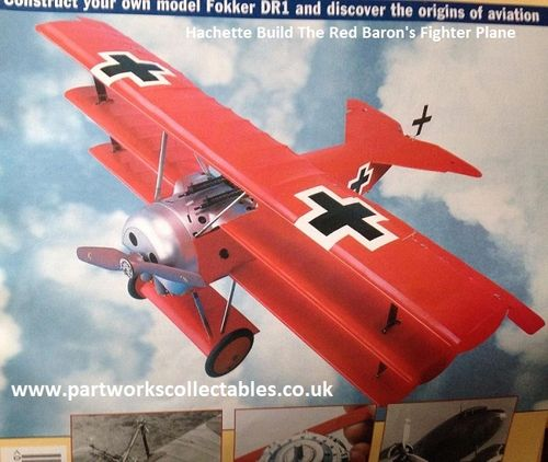 Hachette Build The Red Baron's Fighter Plane