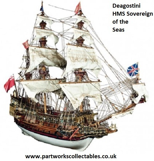 Deagostino Build HMS sovereign of the seas select issue needed