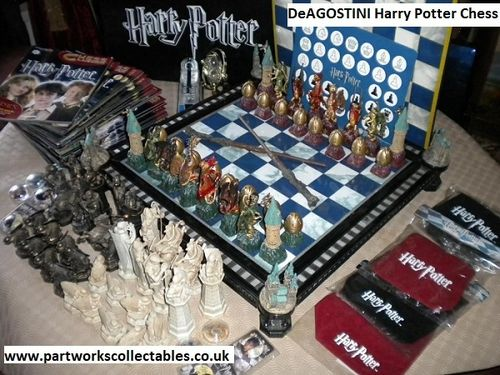 DeAGOSTINI Harry Potter Chess Sealed