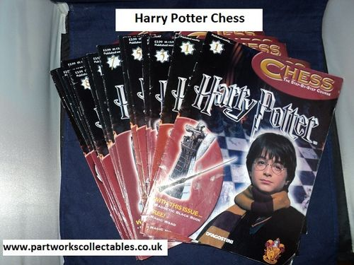 DeAGOSTINI Harry Potter Chess Magazine Only No Piece's