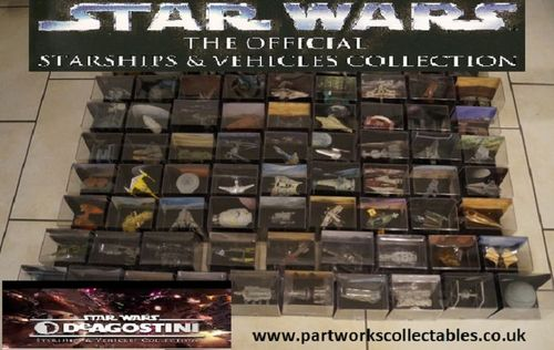 Deagostini Star Wars Starships Vehicles