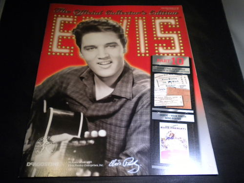 Deagostini Elvis Official Collector's Magazine Only No Artefacts