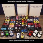 Deagostini Porsche Model Collection