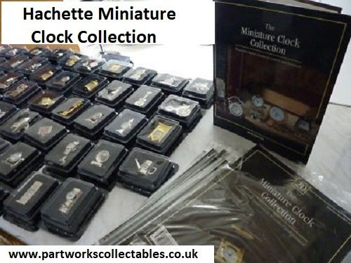 Hachette Miniature Clock Collection