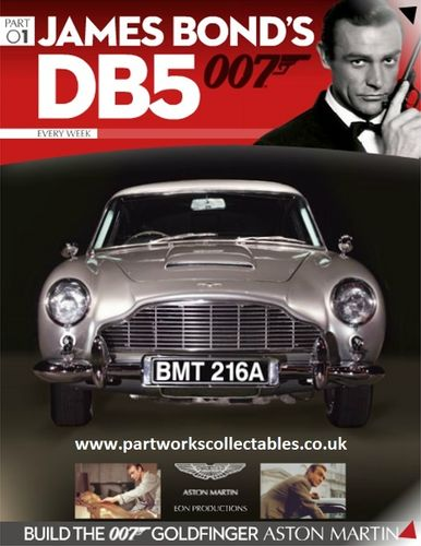 Eaglemoss James Bond DB5 007 Build