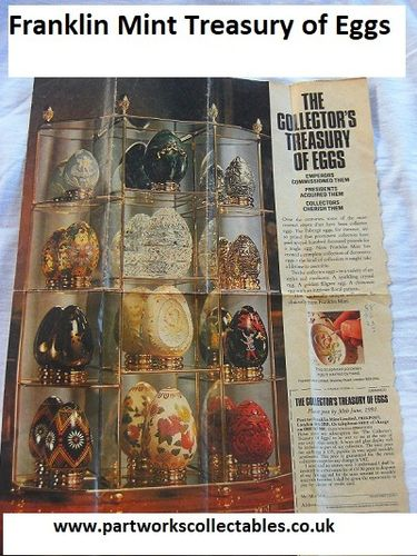 Franklin Mint Treasury of Eggs