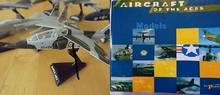 Del Prado Aircraft Of The Aces Models